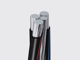 Aerial insulated cable, ABC cable